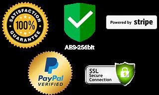 Pagamenti Paypal e Stripe - transazioni sicure e crittografate